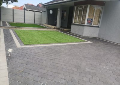 Artificial Grass and Paving Installation